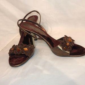 Nine West sling sandals